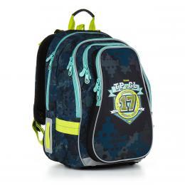 Školní batoh Topgal CHI 878 D - Blue - zvětšit obrázek