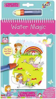 ADC Vílí přátelé vodní magie kouzelné obrázky 6ks set s vodním perem - zvětšit obrázek