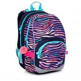 Dívčí školní batoh zebra Topgal KIMI 21010 G - zvětšit obrázek