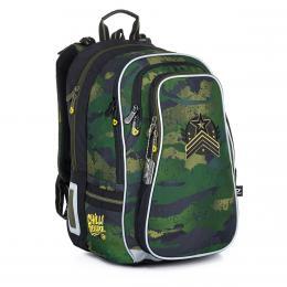 Objemný školní batoh maskáčový Topgal LYNN 21018 B - zvětšit obrázek