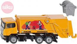 SIKU Auto popeláři Scania set s kontejnerem Faun model 1:87 kov - zvětšit obrázek