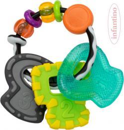 INFANTINO Baby Chrastítko a kousátko s klíčky pro miminko - zvětšit obrázek