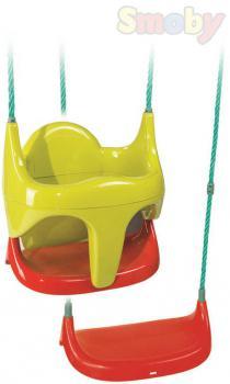 SMOBY Baby houpačka 2v1 hluboká skořepina / prkénko pro miminko plast - zvětšit obrázek
