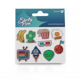 Sticky Pins Topgal TOP 166 D - Blue - zvětšit obrázek