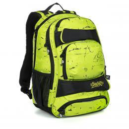 Zelenkavý studentský batoh Topgal YUMI 19034 B - zvětšit obrázek